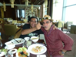 Global superstar chefs Vineet Bhatia and Gaggan Anand at Mekong