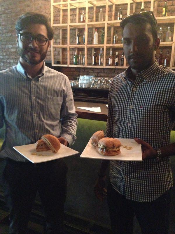 Neville and Srikar - Hot Rocks BBQ