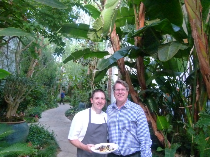 ROCKING FARE: ROD GRUENDYKE AND CHEF ROGER EGGLESTON