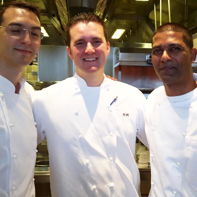 Chefs @raymond_weber @katraja at CUT