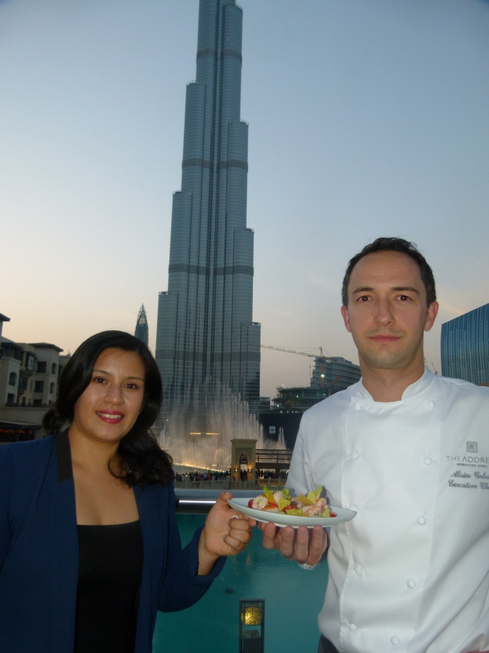 Feasting on the spirit of Dubai with Cynthia Munoz and Chef Alan Gobeil in Zeta