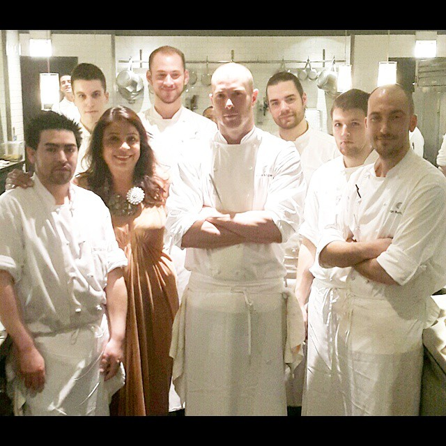 What a joy to be with the brilliant team at Alinea