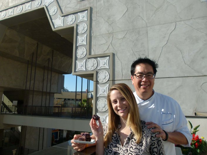Award winners all: Chef mark I Ching, Jaclyn Slifer
