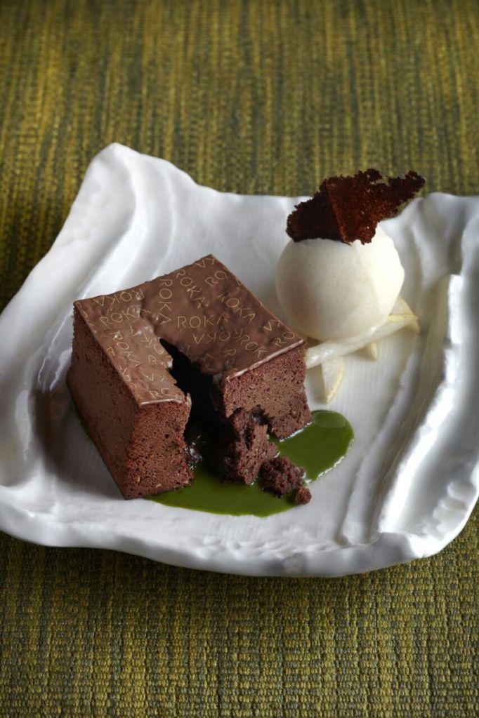 @rokamayfair s #chocolate #dessert oozing dreamily